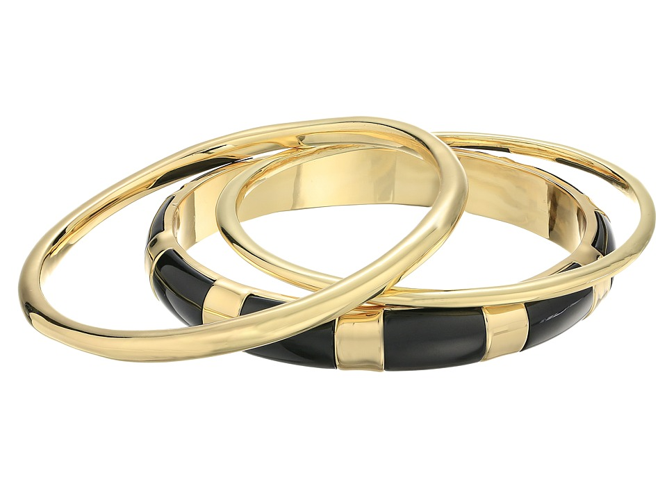 Karen Kane - Organic Bangle Set (Black) Bracelet