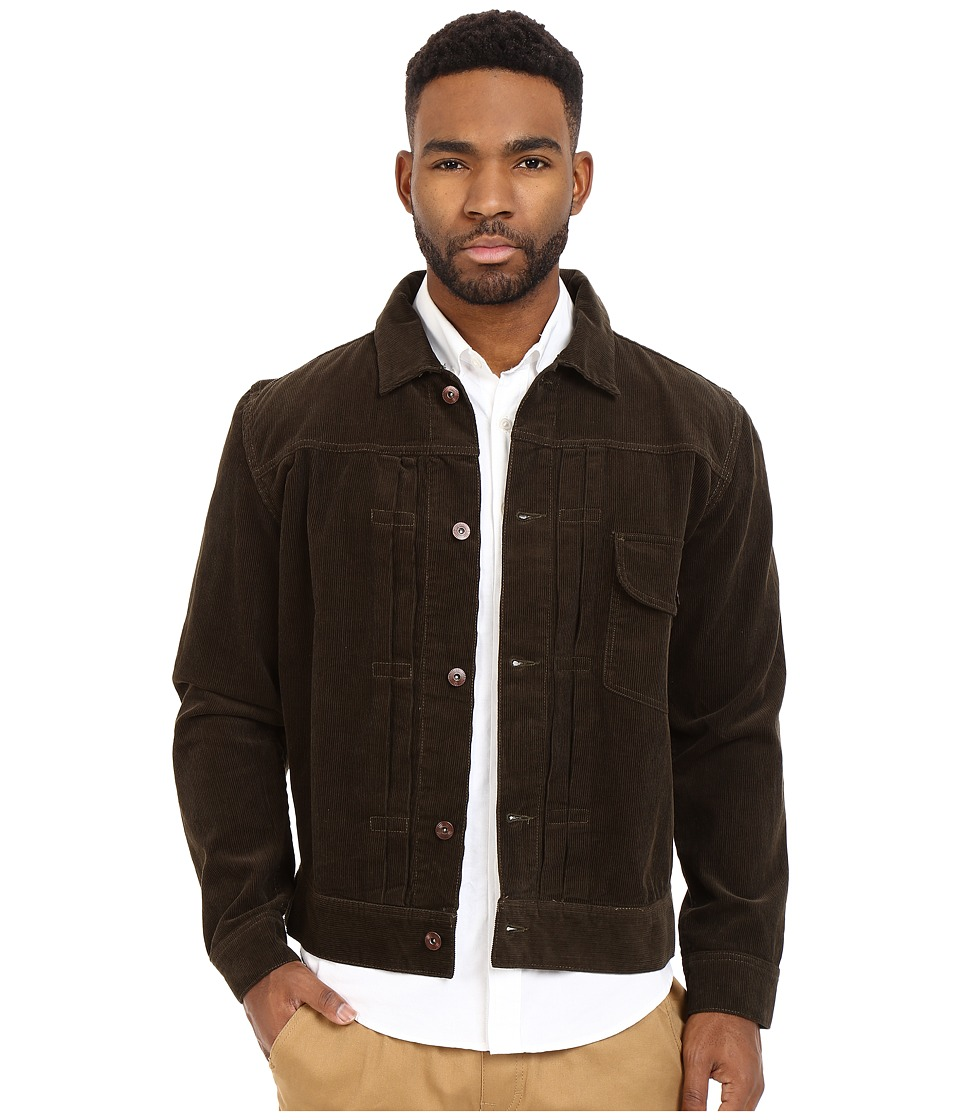 HUF - Type 1 Corduroy Jacket (Olive) Men's Coat