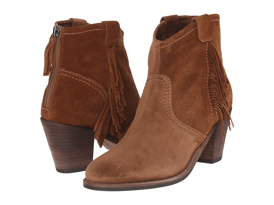 Kennel & Schmenger - Bonnie (Cognac Suede) Women's Zip Boots