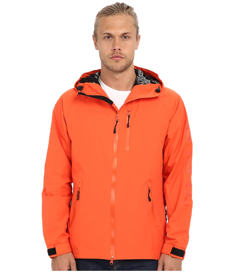 HUF - 10K Jacket (Orange) Men's Coat