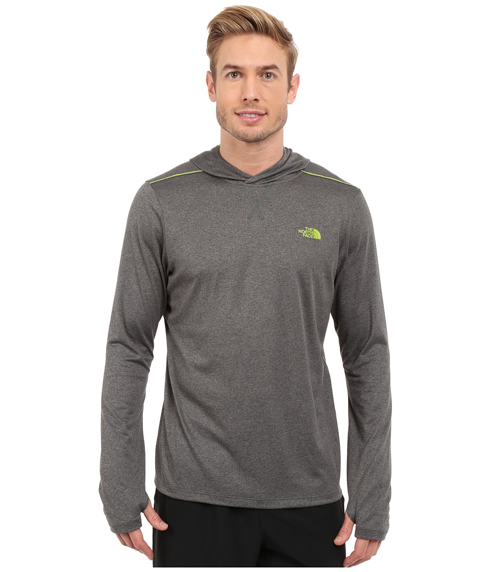 The North Face - Reactor Hoodie (Spruce Green Heather/Macaw Green) Men's Sweatshirt