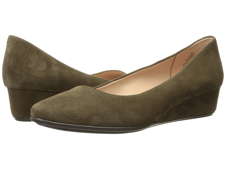 Easy Spirit - Avery (Dark Green Suede) Women's Shoes