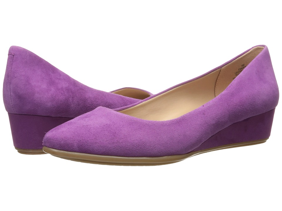 Easy Spirit - Avery (Dark Pink Suede) Women