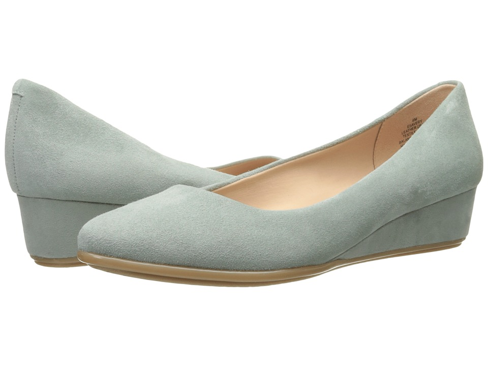 Easy Spirit - Avery (Light Green Suede) Women's Shoes