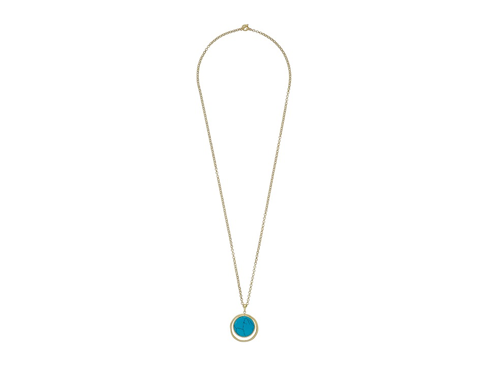 Karen Kane - California Current Reversible Necklace (Turquoise) Necklace