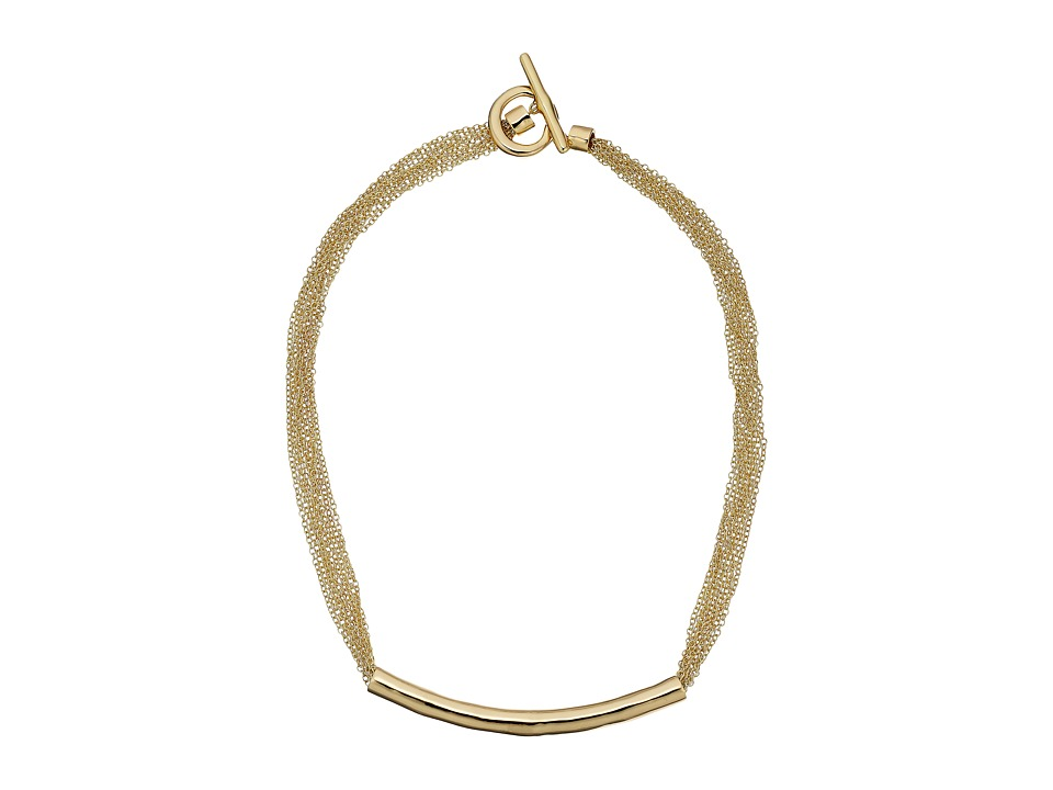 Karen Kane - All or Nothing Organic Chain Necklace (Gold) Necklace