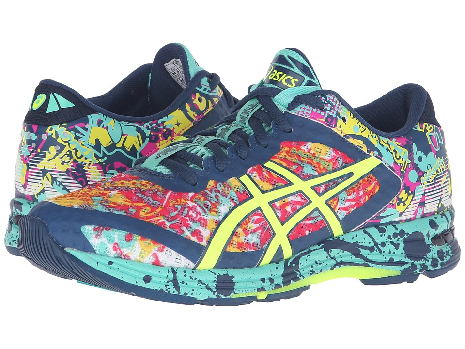 ASICS - Gel-Noosa Tri 11 (Poseidon/Safety Yellow/Cockatoo) Women's Running Shoes