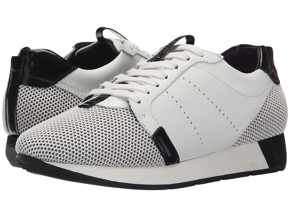 Kennel & Schmenger - Racer Mesh (White/Black) Women's Shoes