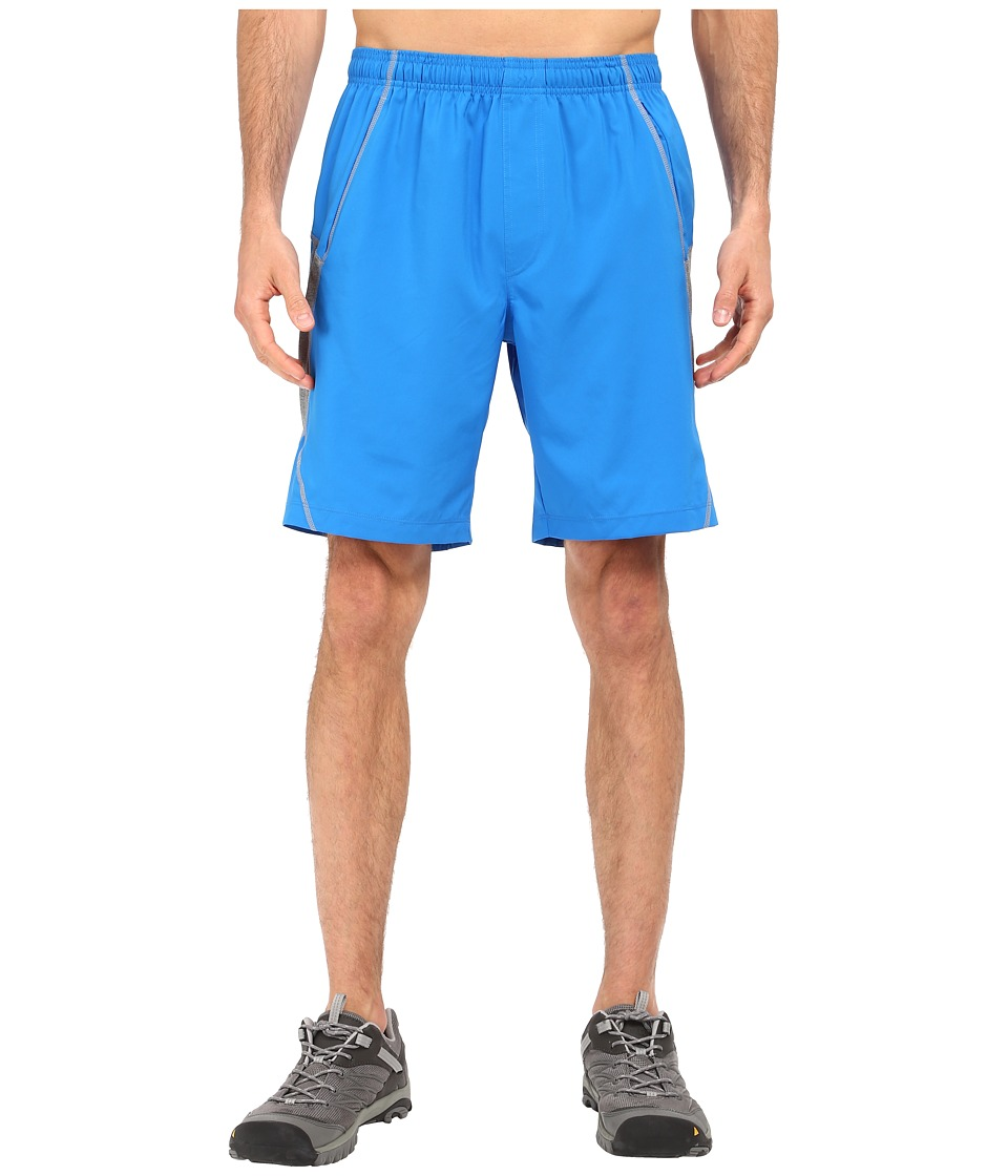 The North Face - Voltage Shorts (Bomber Blue/TNF Medium Grey Heather) Men's Shorts