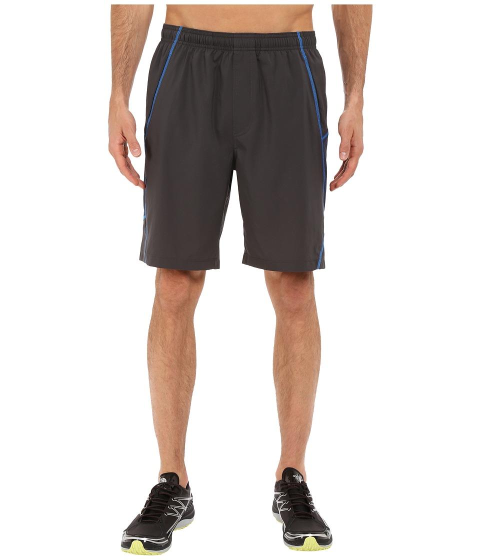 The North Face - Voltage Shorts (Asphalt Grey/Cosmic Blue Heather) Men's Shorts