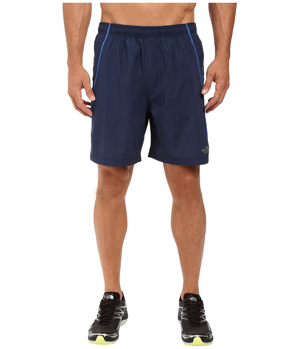The North Face - Voltage Pro Shorts (Cosmic Blue/Bomber Blue Heather) Men's Shorts
