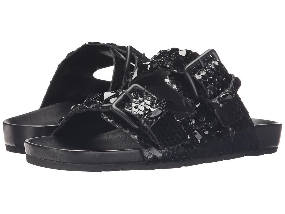 Kennel & Schmenger Love Double Buckle Sandal (Black) Women