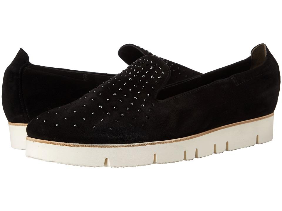 Kennel & Schmenger - Malu Sparkle Loafer (Black/White) Women's Slip on Shoes