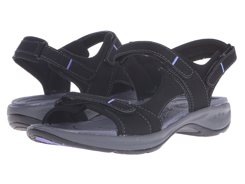 Easy Spirit - Egnita 3 (Black/Black Synthetic) Women's Sandals