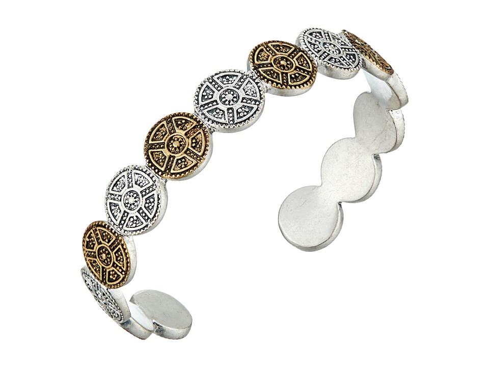 Lucky Brand - Bali Cuff Bracelet (Two-Tone) Bracelet
