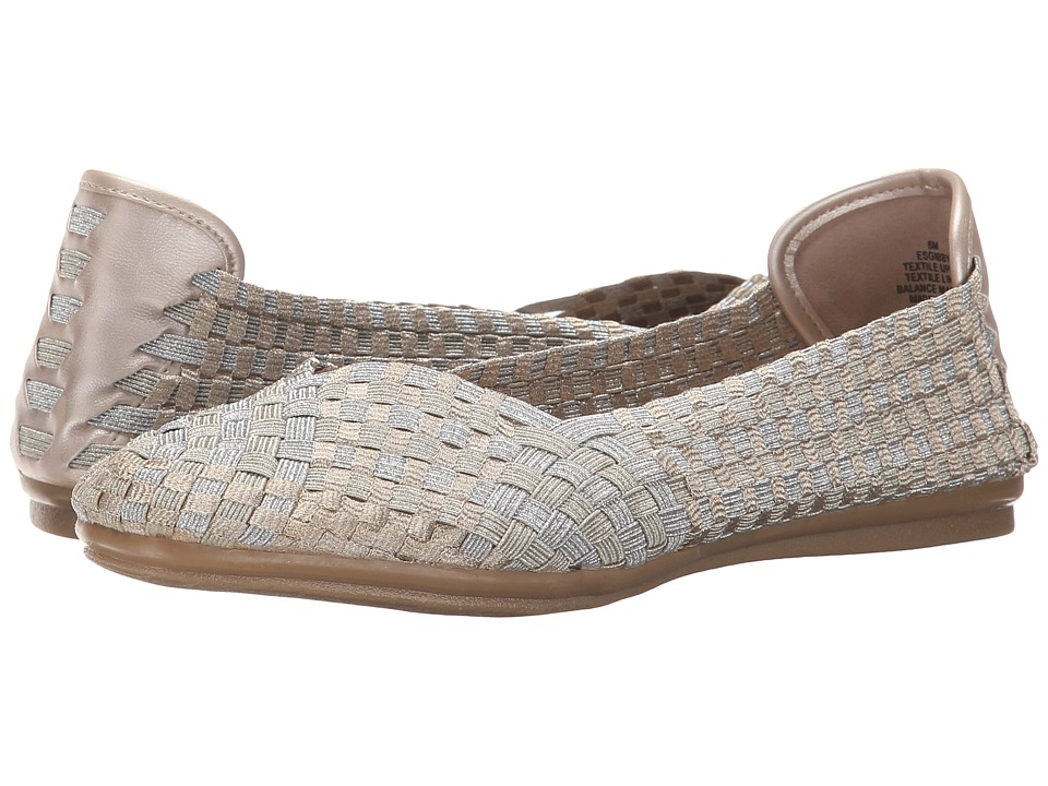 Easy Spirit - Gibby (Silver Multi/Gold Fabric) Women
