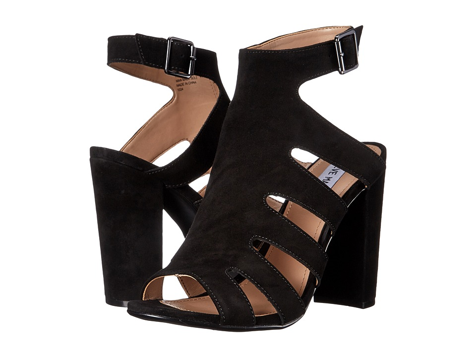 Steve Madden - Caliie (Black Suede) High Heels