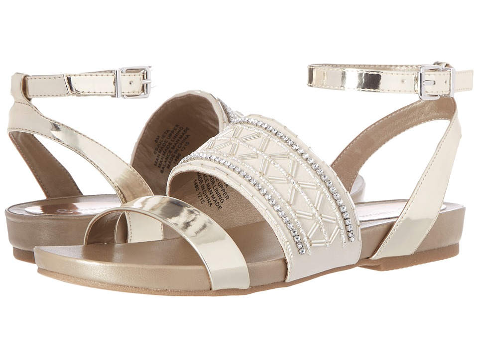 Easy Spirit - Julieta 3 (Light Gold/Off-White Synthetic) Women