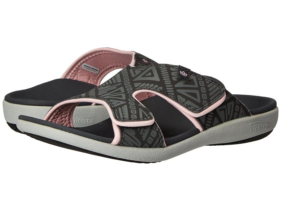 Spenco - Kholo Tribal Slide (Dark Shadow) Women's Slide Shoes