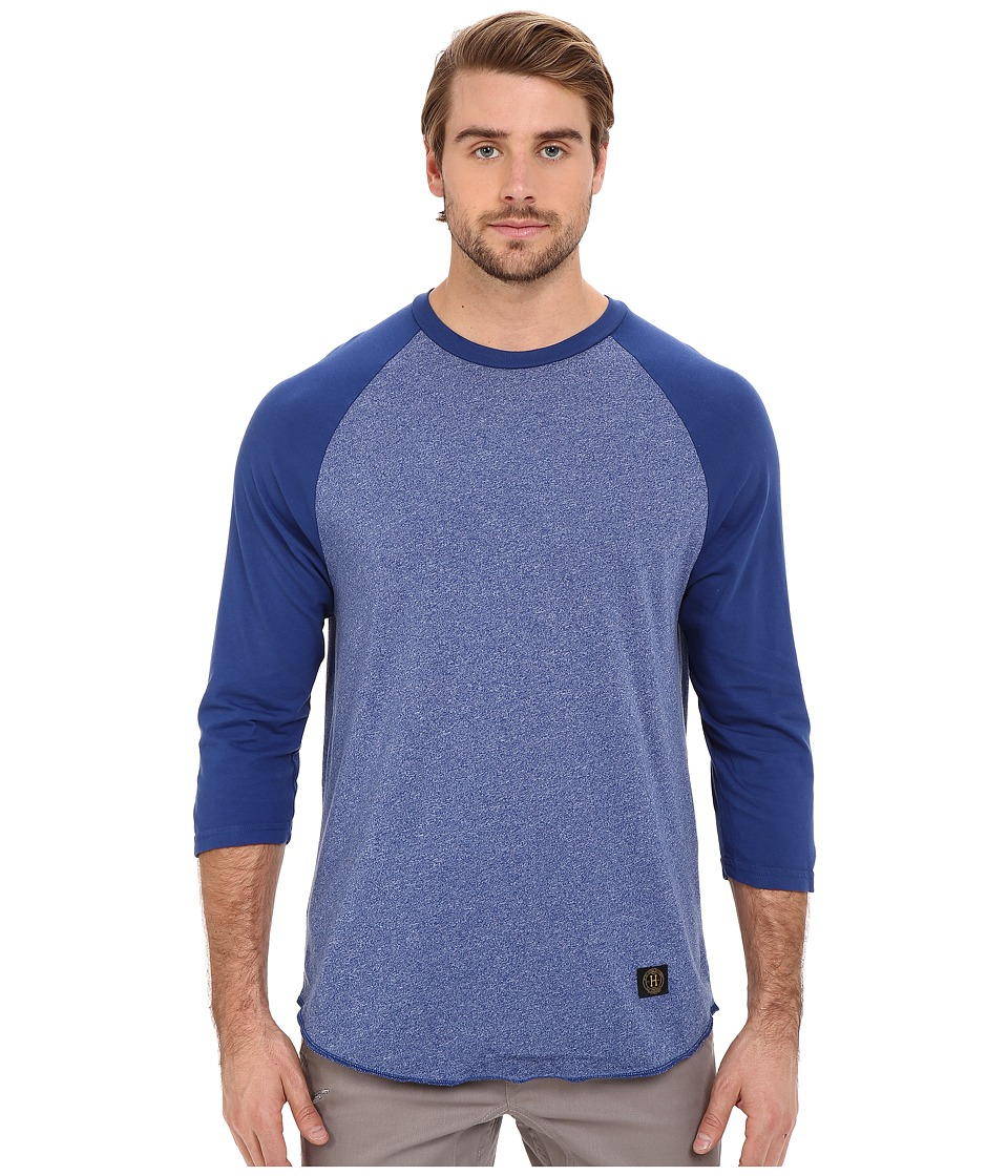 HUF - Standard Issue Raglan (Royal) Men's Long Sleeve Pullover