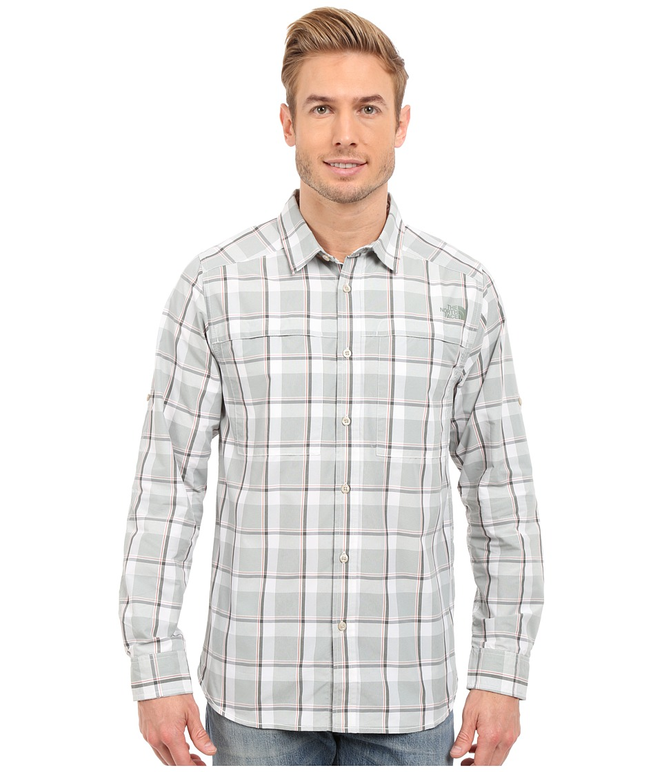 The North Face - Long Sleeve Traverse Plaid Shirt (Spruce Green Plaid) Men's Long Sleeve Button Up