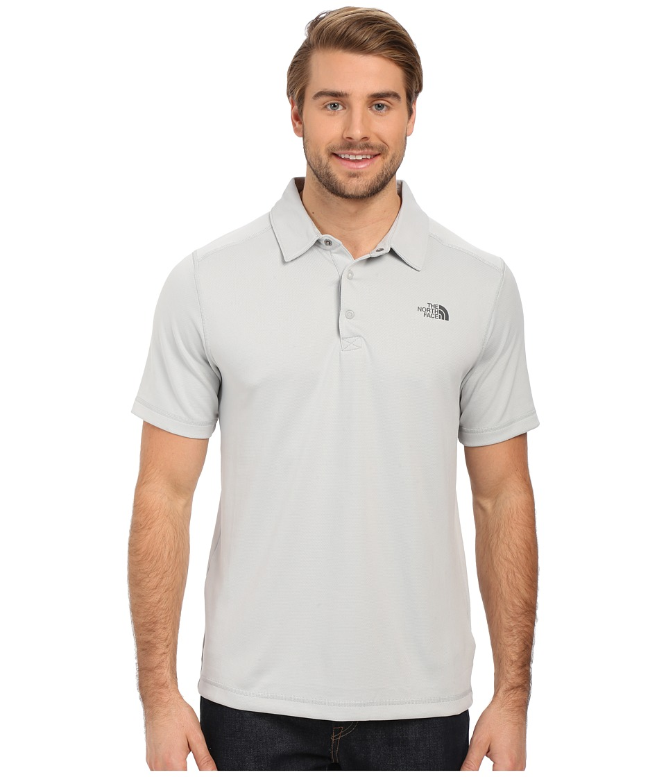 The North Face - Short Sleeve Horizon Polo (High Rise Grey) Men's Clothing