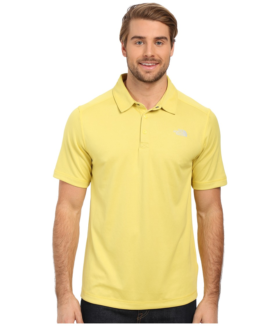 The North Face - Short Sleeve Horizon Polo (Goldfinch Yellow) Men's Clothing