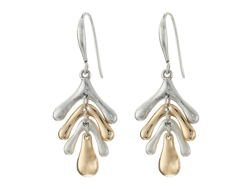 Robert Lee Morris - Two-Tone Sculptural Drop Earrings (Two-Tone 1) Earring