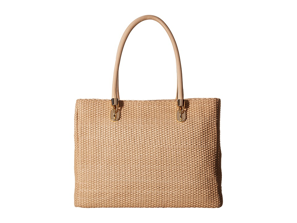 Cole Haan - Benson Woven Tote (Vachetta) Tote Handbags
