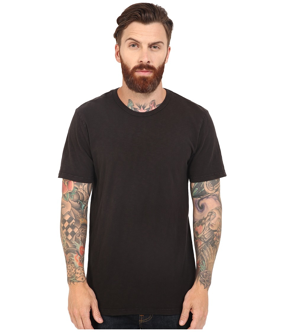HUF - Concrete Garment Dye Tee (Black) Men's T Shirt