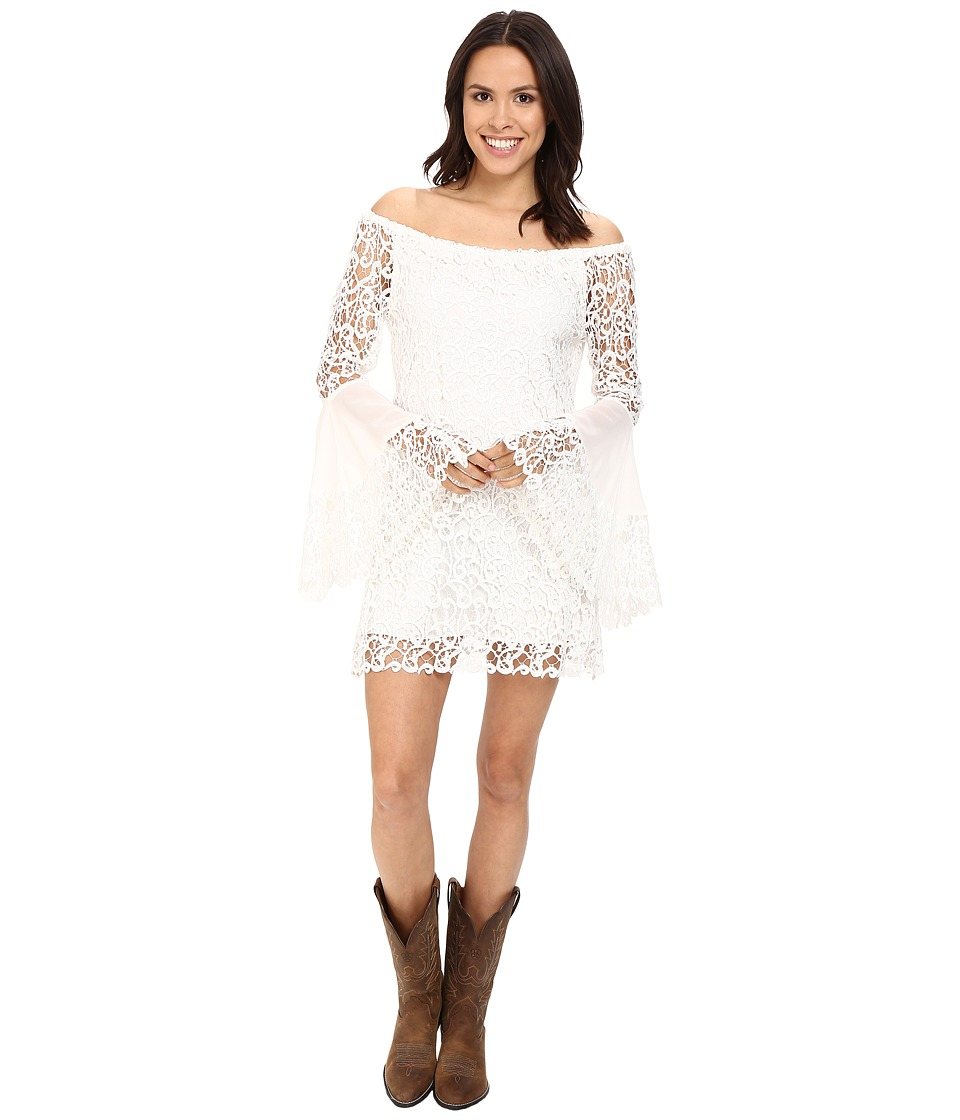Union of Angels - Lilian Dress (White) Women's Dress