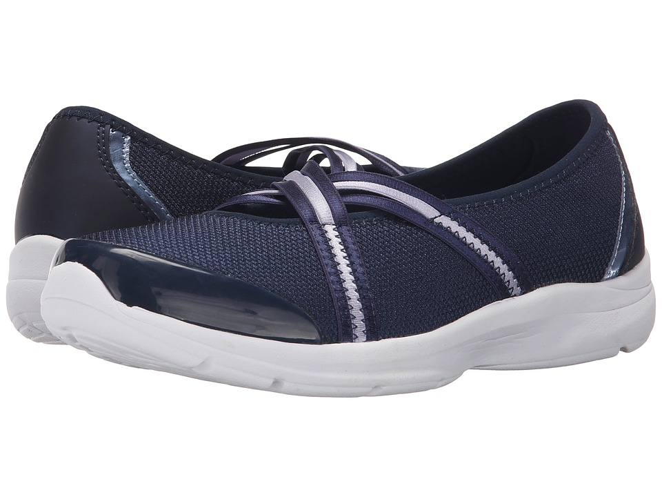 Easy Spirit - Quinty 2 (Navy Multi Fabric) Women's Shoes