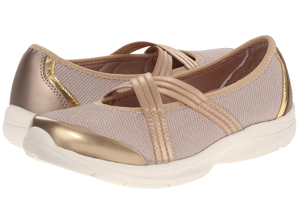 Easy Spirit - Quinty 2 (Dark Gold Multi Fabric) Women