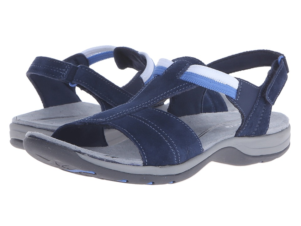 Easy Spirit - Sumana (Navy/Navy Suede) Women's Sandals