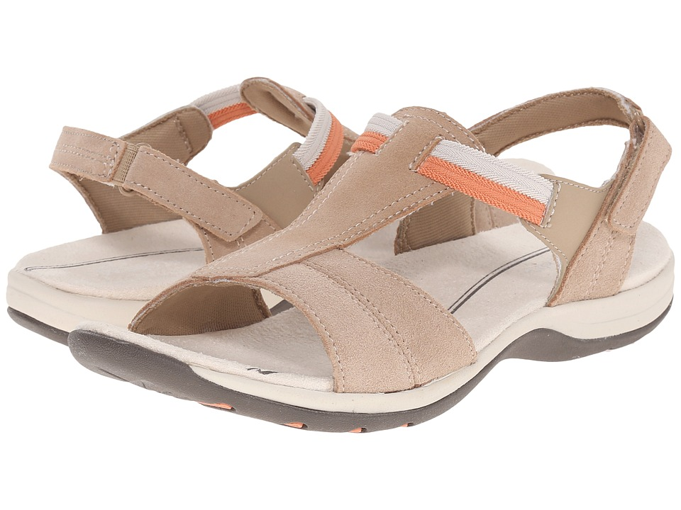 Easy Spirit - Sumana (Natural/Natural Suede) Women's Sandals