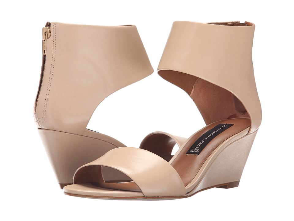 Steven - Laynna (Nude Leather) Women's Wedge Shoes