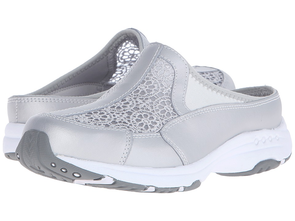 Easy Spirit - Travellace (Silver Multi Leather) Women