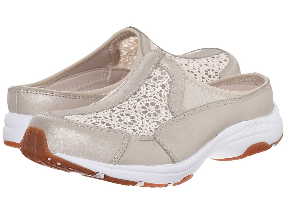 Easy Spirit - Travellace (Light Gold Combo Leather) Women's Shoes