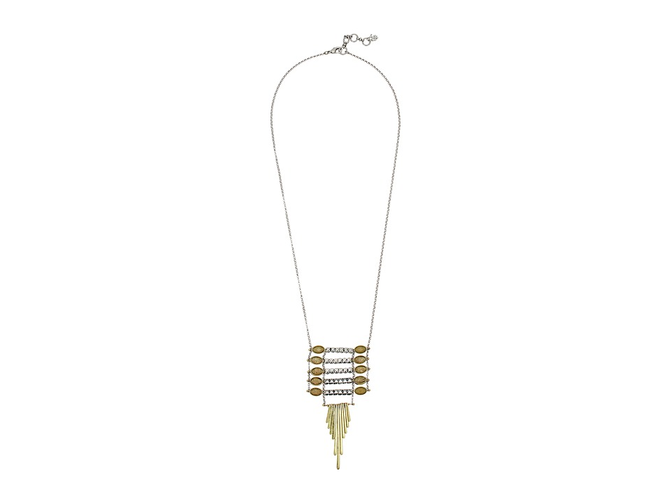 Lucky Brand - Ladder Burst Pendant Necklace (Two-Tone) Necklace