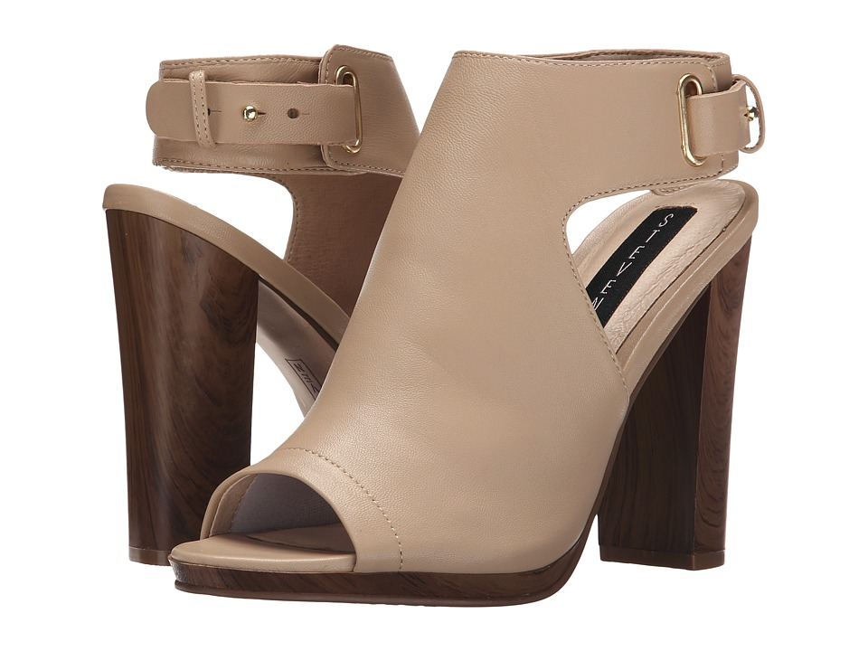 Steven - Nikolett (Nude Leather) High Heels