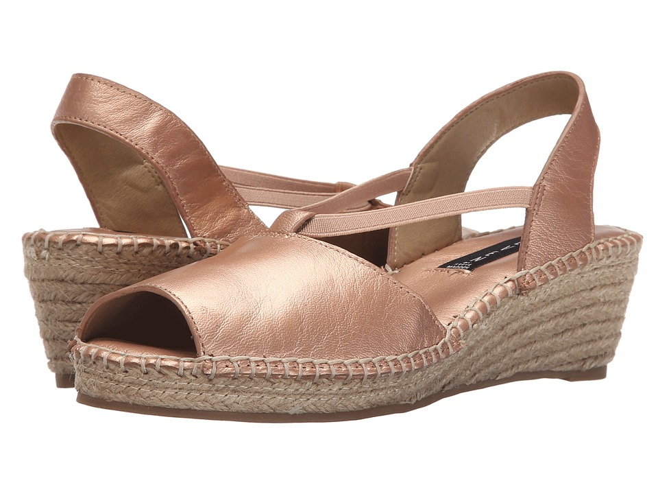 Steven - Izzi (Rose Gold) Women's Wedge Shoes