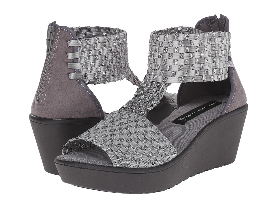 Steven - Bengle (Pewter Multi) Women's Wedge Shoes