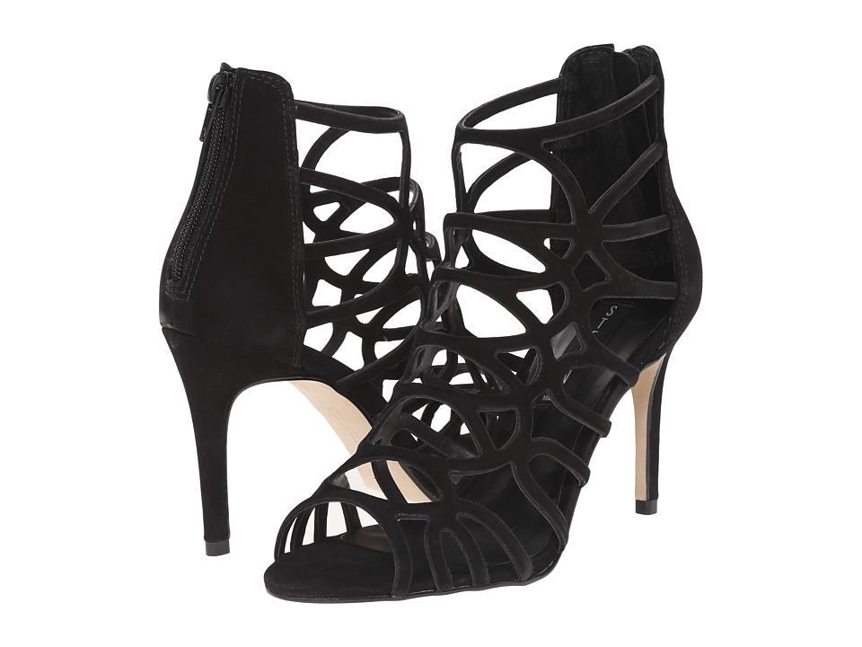 Steven - Tana (Black Nubuck) High Heels