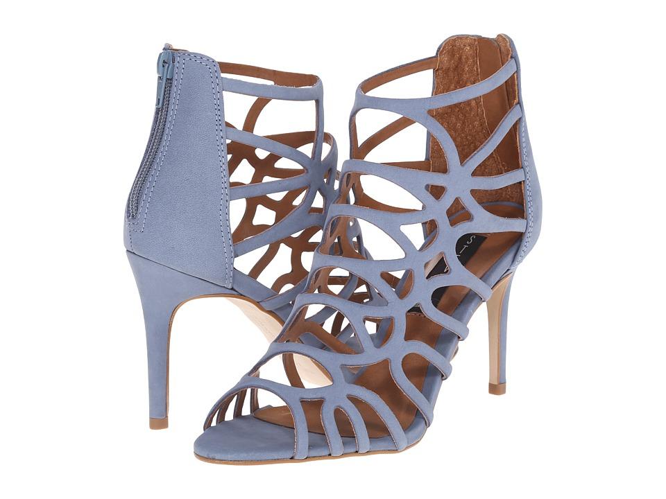 Steven - Tana (Blue Nubuck) High Heels