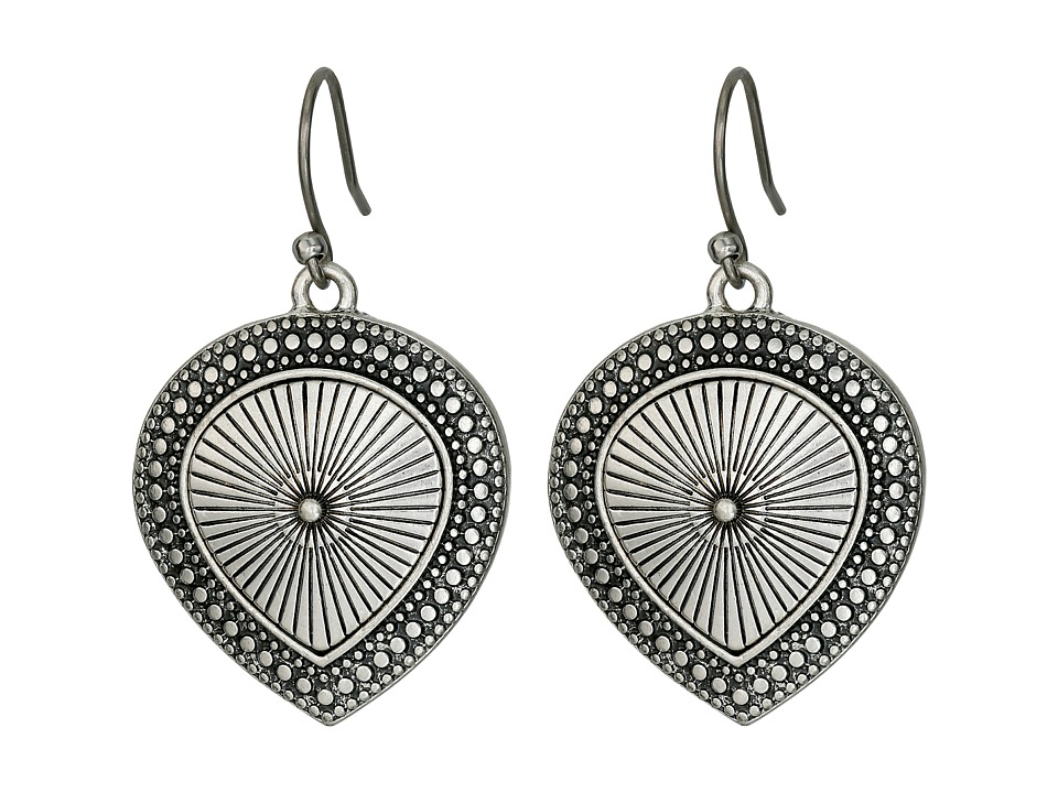 Lucky Brand - Tearring Drop Earrings (Silver) Earring