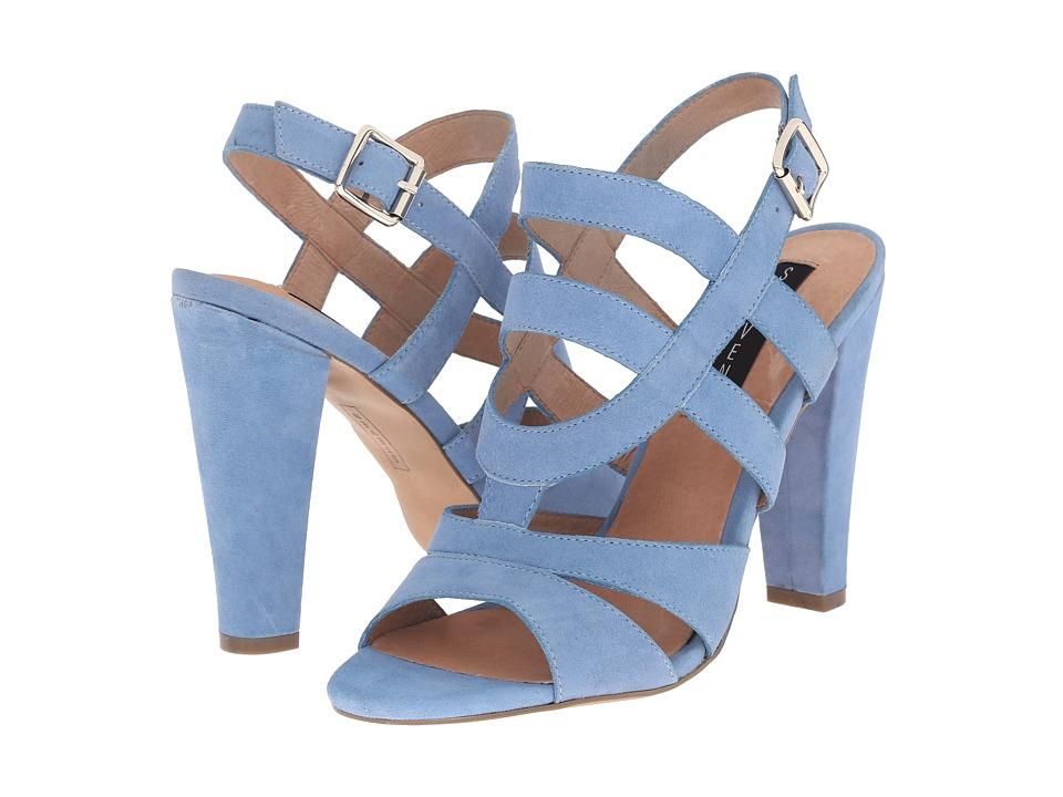 Steven Cassndra (Blue Suede) High Heels
