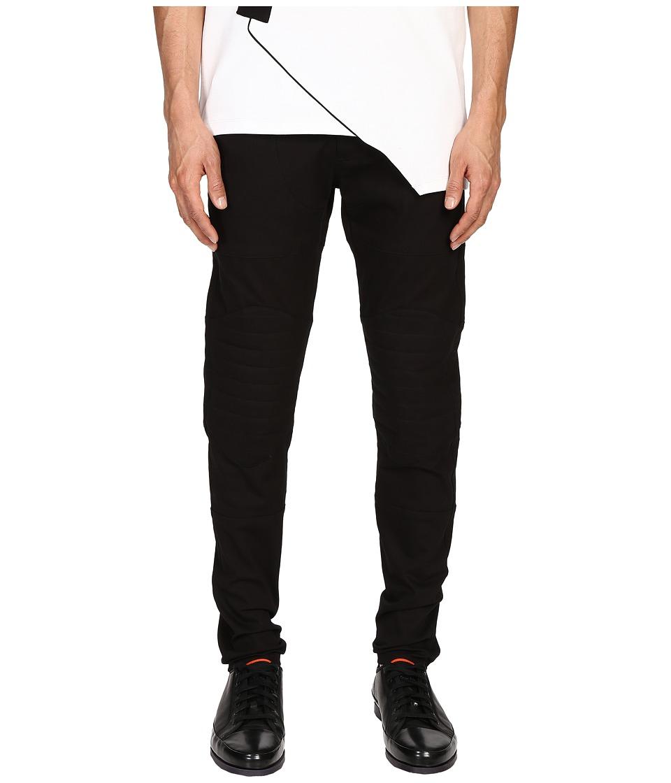Pyer Moss - NG Biker Jeans (Black) Men's Jeans
