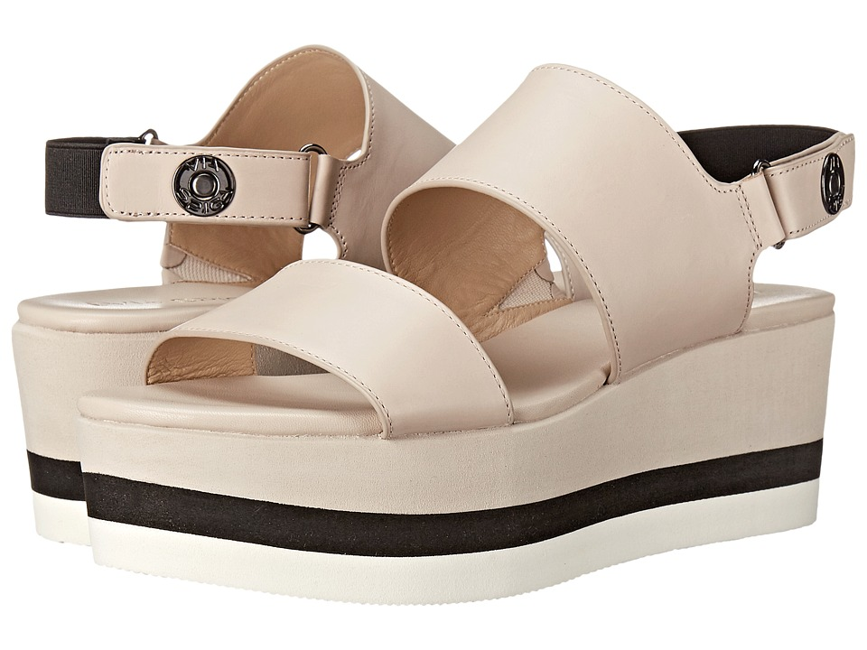 Via Spiga - Neza (Light Taupe/Black) Women's Sandals