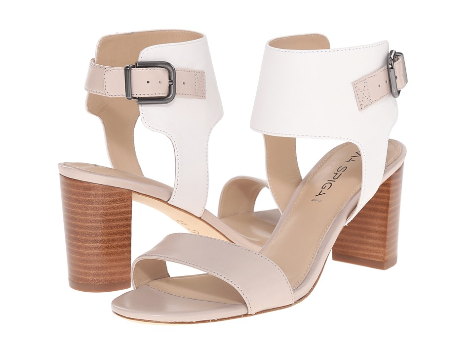 Via Spiga - Wiley (Taupe/White) High Heels