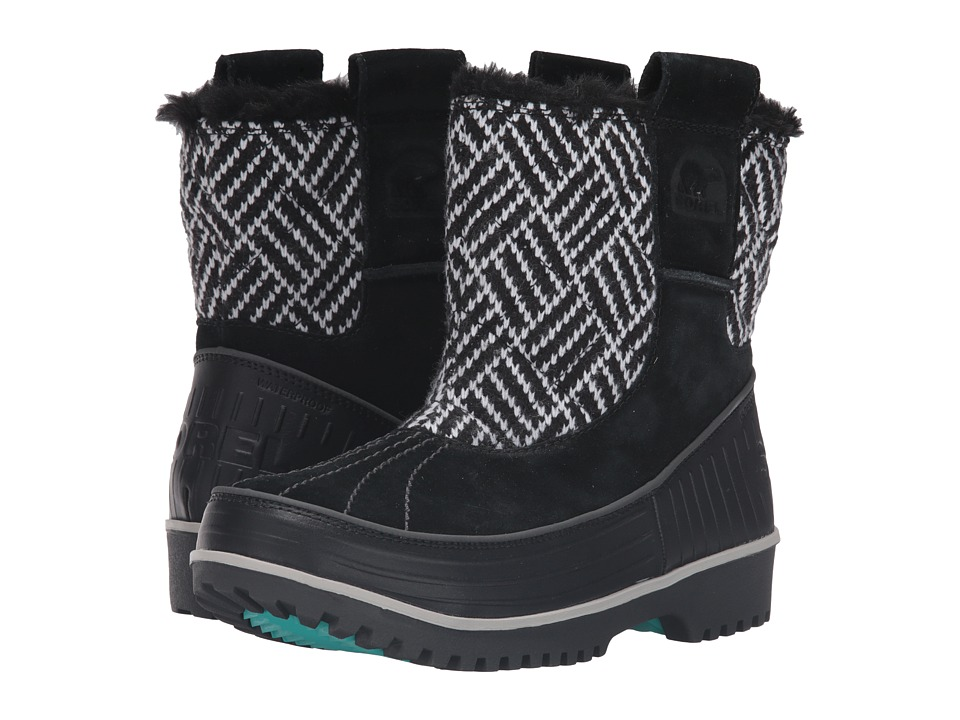 SOREL Kids - Tivoli II Pull-On (Little Kid/Big Kid) (Black/Shark) Girls Shoes